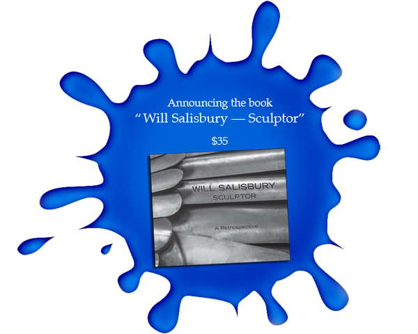 Announcing the book: 'Will Salisbury — Sculptor'—$35